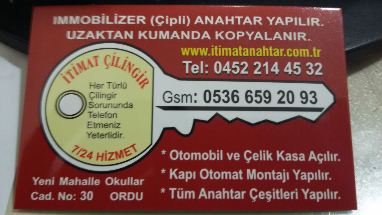 İtimat Anahtar